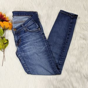 Current Elliott Maternity Skinny Jeans Size 28